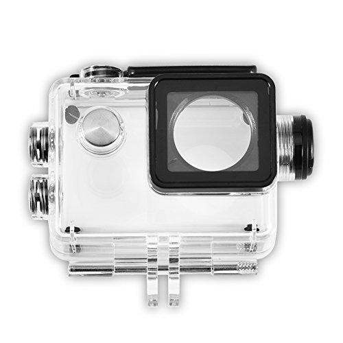 Galleria fotografica Acouto Custodia impermeabile per fotocamera sportiva Accessori con cavo di ricarica per SJCAM SJ4000 / SJ7000