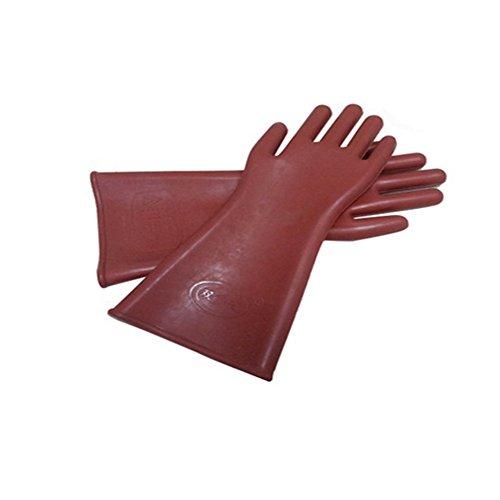 Böden Mens Thermische (12KV Isolierte Handschuhe Sicherheitsmarke Gummi Isolierte Handschuhe 12KV Elektrische Handschuhe Geladen)