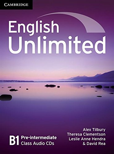 English Unlimited Pre-intermediate Class Audio CDs