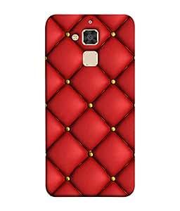 PrintVisa Designer Back Case Cover for Asus Zenfone 3 Max ZC520TL (5.2 Inches) (Wow Design Of Cute Red Colour Diamonds)