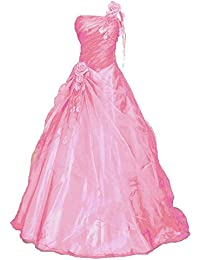 05bbca1539cb7 Romantic-Fashion Damen Ballkleid Abendkleid Brautkleid Lang Modell  E230-E234 A-Linie Blüten