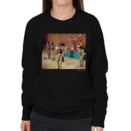 al Photography - The Jackson 5 At The Royal Variety Performance Women's Sweatshirt (Michael Jackson-performance)