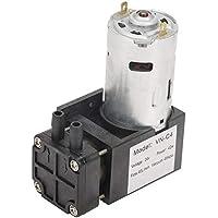 Akozon Oilless Vakuumpumpe DC24V Mini kleine ölfreie Vakuumpumpe -85KPa Durchfluss 40L/min für Gas Luft