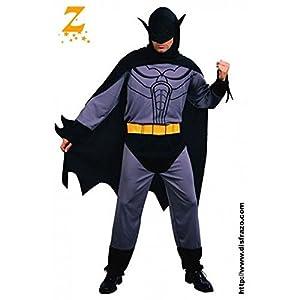 Fyasa 702072-t04disfraz de murciélago, color gris, grande
