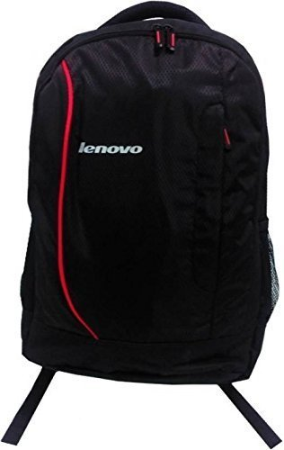 Laptop Bag 15.6 inch backpack for Lenovo HP Dell Laptops - Black  available at amazon for Rs.399