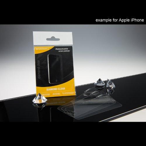 SWIDO–Pellicola proteggi schermo per Apple Iphone 3G/3GS 3 x SWIDO Diamante trasparente