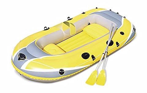Bestway Hydro-Force Raft Set Boot mit Blasebalg und 2 Rudern