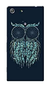 HACHI Premium Printed Cool Case Mobile Cover for Sony Xperia M5