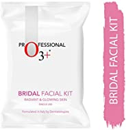 O3+ Bridal Facial Kit for Radiant & Glowing Skin - Suitable for All Skin Types (120g, Single
