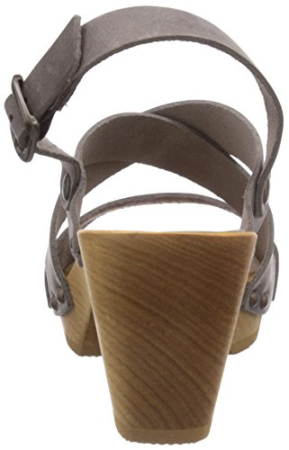 Sanita  Olympia Square Flex Sandal, Sandales Gris - Grau (Grey 20)