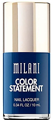 Milani Color Statement Nail Lacquer, Ink Spot, 0.34 Fluid Ounce by Milani