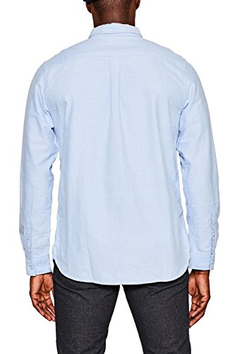 edc by ESPRIT Herren Freizeithemd 097CC2F008 Blau (Light Blue 440)
