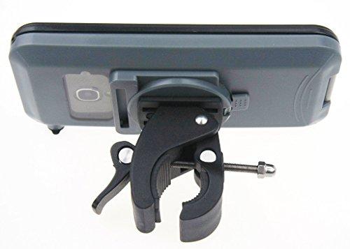 Armor-X MX-U243-BK per esterno impermeabile e resistente agli urti con bicicletta/Trolley Da Golf Per Iphone 5e Samsung Galaxy S3/S4con collegamento cuffie