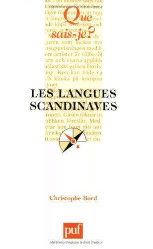 Les Langues scandinaves