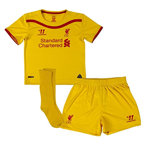 Liverpool FC 2014 15 Away Infant Football Kit - size 18-24M