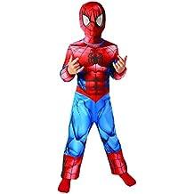 El hombre araña último Clásico - Childrens Disfraz - Pequeño - 104cm - Edad 3-4