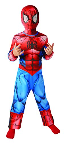 Rubie's 3620680 - Ultimate Spider-Man Classic, Action Dress Ups und Zubehör, (Ups Kinder Kostüm)