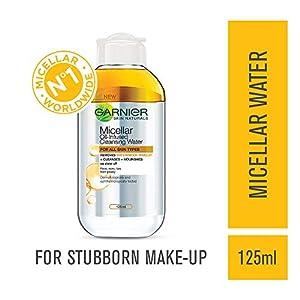 Garnier Skin Naturals – Limpiador micelar de agua bifásico, 125 ml, India