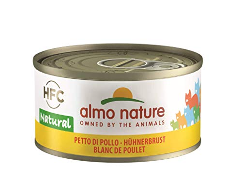 Almo Nature HFC Natural Katzenfutter - Hühnerbrust 24x70 g