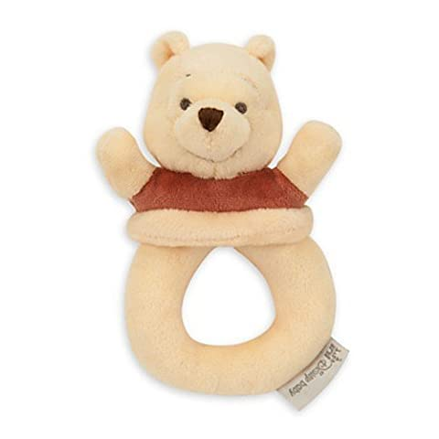 Disney Winnie the Pooh Plush Rattle for Baby by Disney