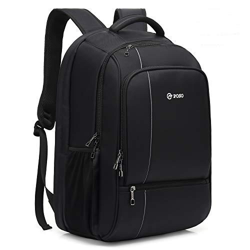 ICETEK Laptoprucksack 17,3 Zoll (17,3 Zoll), strapazierfähig, groß, Anti-Diebstahl, Business Rucksack, Computer-Rucksack mit RFID-Taschen, wasserabweisend, für Reisen und Business, Tagesrucksack