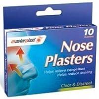 Preisvergleich für Masterplast Nasen-Pflaster - 10 Pflaster - Clear & diskret