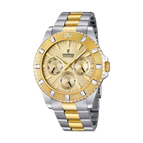 Festina Ladies Watch Vendome Analogue Quartz Stainless Steel Coated F16696 / 2
