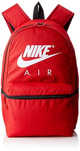 Nike NK Air BKPK, Mochila Unisex Adultos, Multicolor (Gym Red/Black/White), 15x24x45 cm (W x H x L)