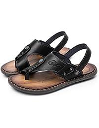 Sandali Sandali Estivi da Uomo e Pantofole Sandali Antiscivolo Impermeabili  (Nero Blu Marrone 38- 338e718d670