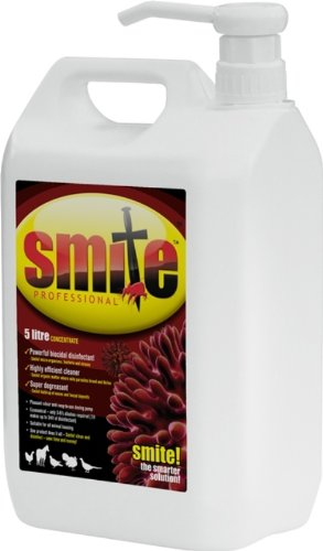 Smite Professional Animal Housing Disinfectant, 5 Litre