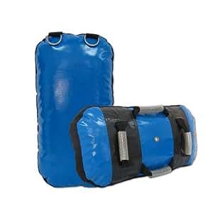 bouclier de frappe commando arts martiaux vinyle - Bleu