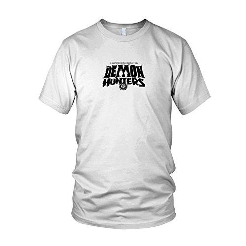 Hunter Demon Kostüm - The Demon Hunters - Herren T-Shirt, Größe: XL, Farbe: weiß