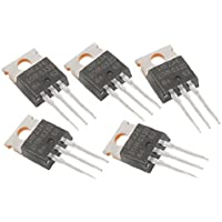 DealMux a11080400ux0080 IRFZ34N MOSFET Transistor, 55V 30A, TO-220AB, 5 pieza
