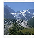 Photo Mug of Mountains of the Haute-Alpes, viewed from the Col de Galibier, 2704m, in the