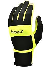 Reebok RRGL-10114YL Guantes de Running Térmicos, Amarillo, L