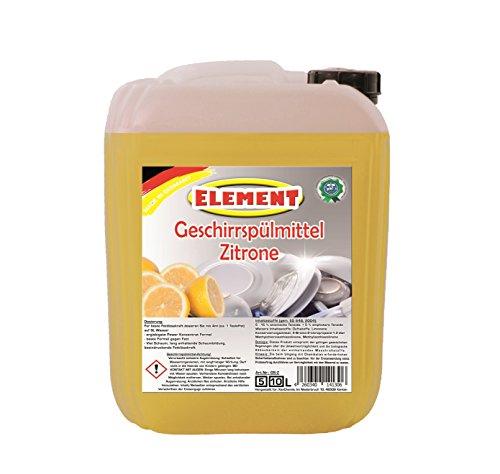 Geschirrspülmittel Konzentrat Spülmittel Handspülmittel Zitrone 5 Liter Geschirrreiniger Geschirr Reiniger Kanister