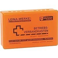 Leina-Werke Betriebsverbandkasten DIN 13157 ohne Wandhalter 20002 neonorange preisvergleich bei billige-tabletten.eu