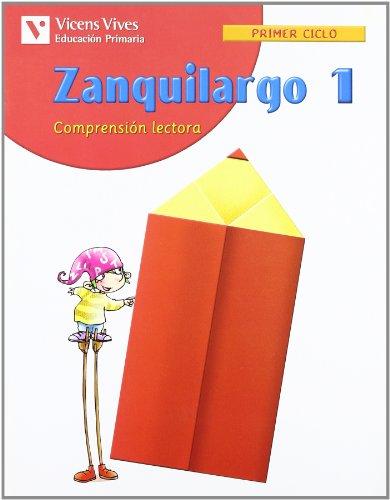 Zanquilargo Cuaderno 1 - 9788431674281