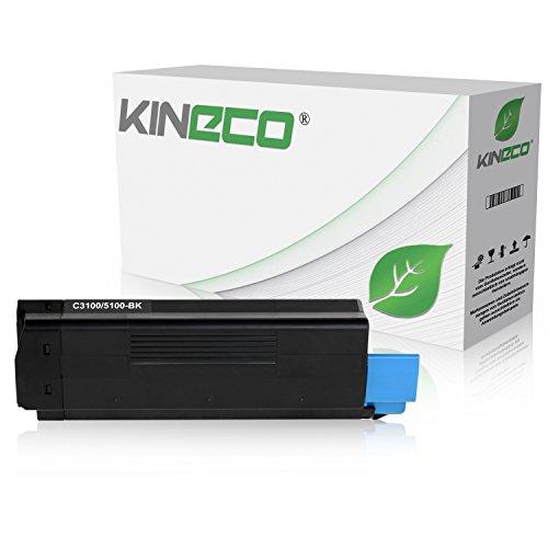 Toner kompatibel zu OKI C3100, C3200, C5100, C5200, C5250, C5300, C5400, C5450, C5510 - 42804516 - Schwarz 6.000 Seiten