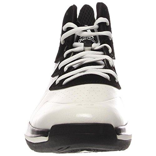 Adidas Einschüchtern Basketball-Schuh-Wei� / schwarz 8 Core White/Black