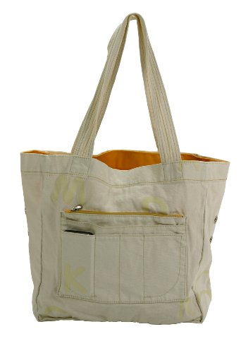 Mandarina Duck, Borsa shopper donna (Natural/V2T03984)