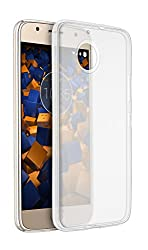 mumbi Hülle kompatibel mit Motorola Moto G5S Plus Handy Case Handyhülle dünn, transparent
