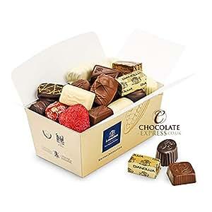Belgian Chocolates, Leonidas Assorted Gift Box: 22 Premium Pralines, Truffles, Butter Creams, Ganache 400g Luxury Christmas Present