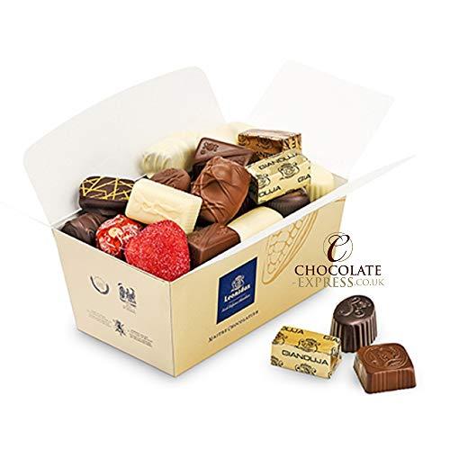 Preisvergleich Produktbild Belgische Leonidas Pralinen in Geschenkbox: Mischung von 35 luxurioesen Pralinen in edler Geschenkverpackung (600g)