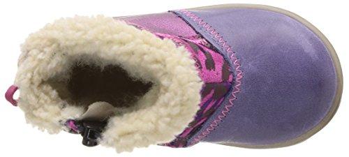 Noël Mini Marmo Ch, Boots bébé fille Violet (115)