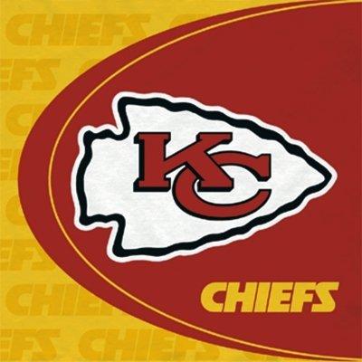 Hallmark 147835 Kansas City Chiefs Lunch-Servietten (Spielzeug City Kansas Chiefs)