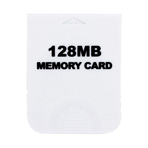 Childhood Blanco Tarjeta de memoria 128M para Nintendo Wii NGC Gamecube Console