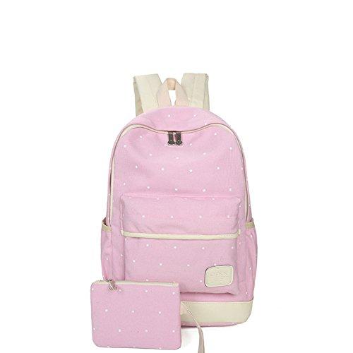 Schultasche/Die Studenten Leinwand drucken Rucksack/ zweiteilige vielseitiger Rucksack-E A