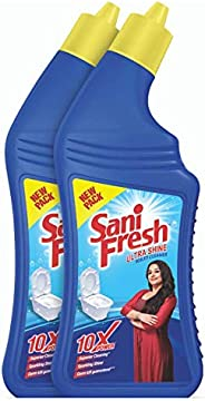 Sanifresh Ultrashine Toilet Cleaner -1.5 X Extra Strong Extra Clean - 2L ( 1L X 2 )