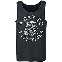 A Day To Remember Skeleton Skate Camiseta Tirantes Negro
